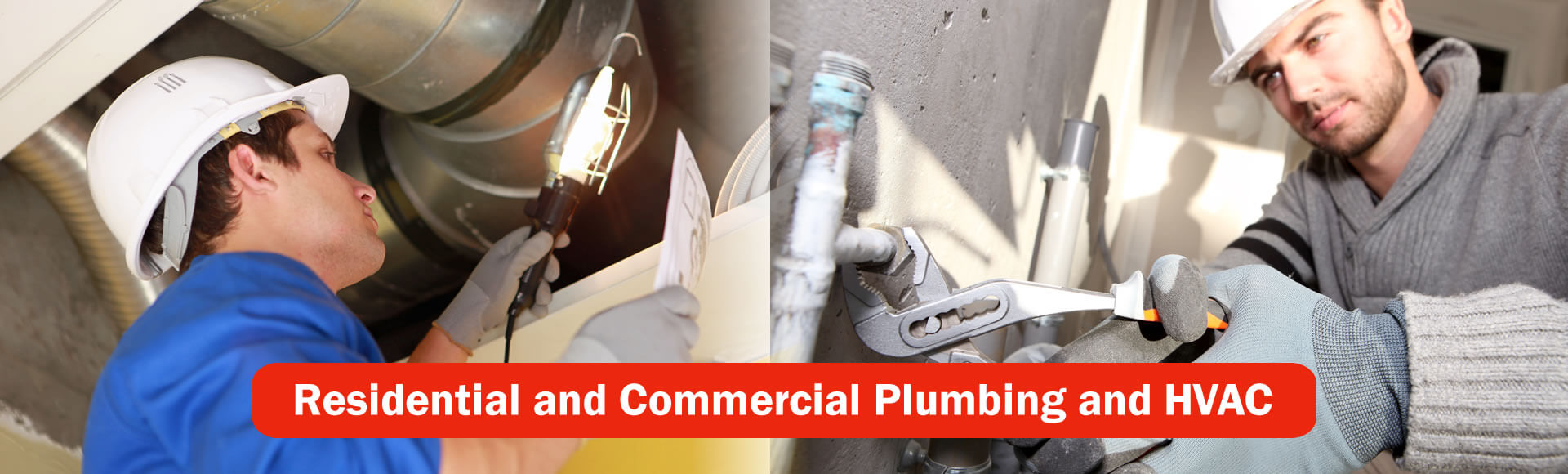 Residential and Commercial Plumbing and HVAC